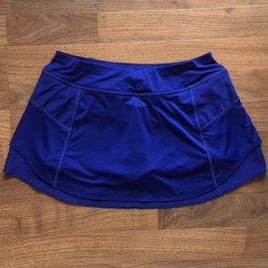 High-End Layered & Pocketed Athleta Tennis Skort-M